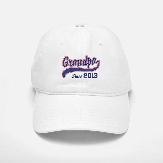 Grandpa Since 2013 Baseball Baseball Cap