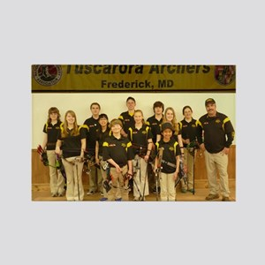Tuscarora Archers Indoor Joad Team Rectangle Magne