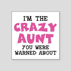 Crazy Aunt Sticker