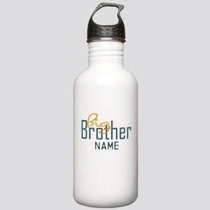 Add Name Big brother Print Stainless Water Bottle