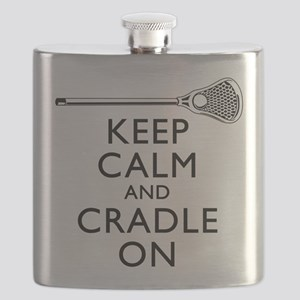 Keep Calm And Cradle On Flask