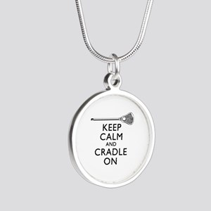 Keep Calm And Cradle On Necklaces