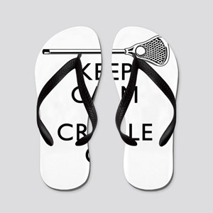 Keep Calm And Cradle On Flip Flops