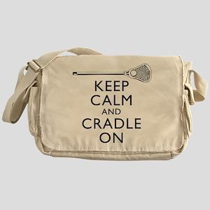 Keep Calm And Cradle On Messenger Bag