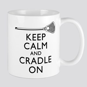 Keep Calm And Cradle On Mug