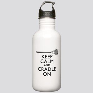 Keep Calm And Cradle On Water Bottle