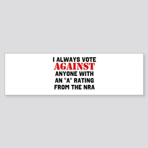 No NRA Bumper Sticker