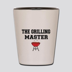 The Grilling Master with pix Shot Glass