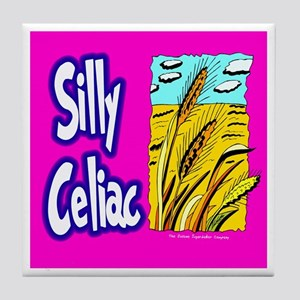 Silly Celiac Tile Coaster