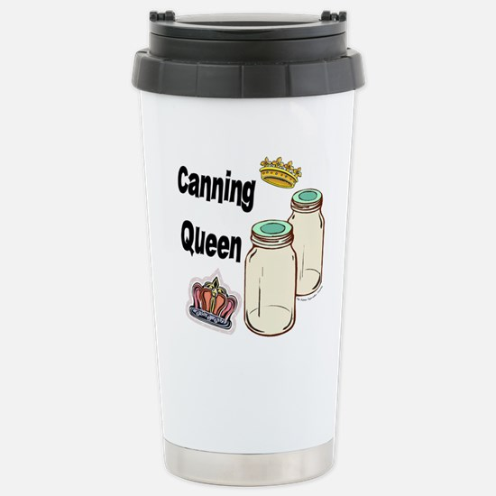 Canning Queen Stainless Steel Travel Mug