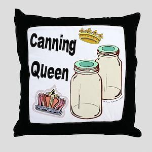 Canning Queen Throw Pillow