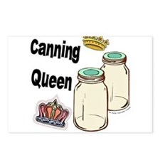 Canning Queen Postcards (Package of 8)