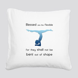 Blessed are the Flexible 2 Square Canvas Pillow