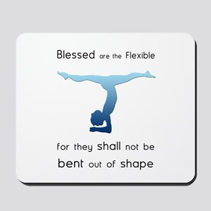 Blessed are the Flexible 2 Mousepad