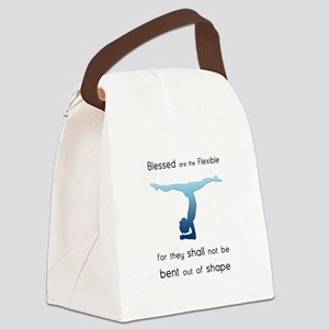 Blessed are the Flexible 2 Canvas Lunch Bag