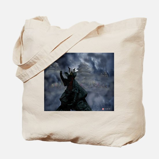 Tote Bag, Mystic Warrior of Long Ago