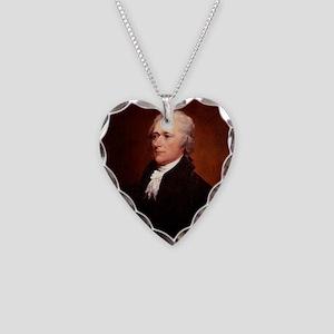 Alexander Hamilton Necklace Heart Charm