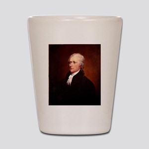 Alexander Hamilton Shot Glass