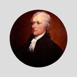 """Alexander Hamilton 3.5"""" Button"""