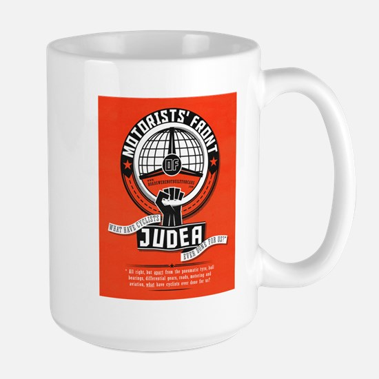 Motorists' Front of Judea solid red Mug