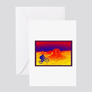RIDE THE LIFE Greeting Cards
