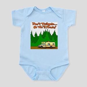 Don't Tailgate Or We'll Flush Infant Bodysuit