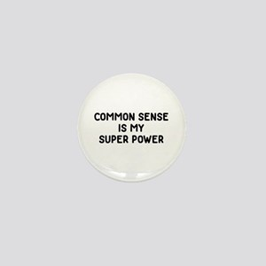 Common Sense Mini Button