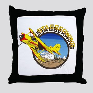 BEECH STAGGERWING Throw Pillow