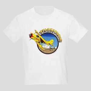 BEECH STAGGERWING Kids Light T-Shirt