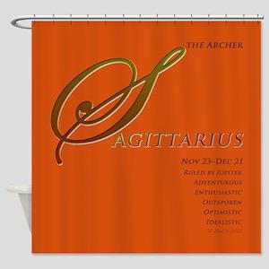 Sagittarius Astrographix Shower Curtain
