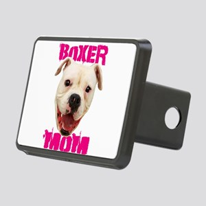 Boxer Mom dog Hitch Cover