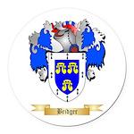 Bridger Round Car Magnet