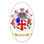 Bride Sticker (Oval 10 pk)