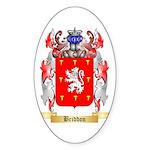 Briddon Sticker (Oval 10 pk)