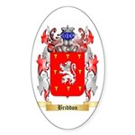 Briddon Sticker (Oval 50 pk)