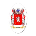 Briddon 20x12 Oval Wall Decal