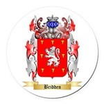Bridden Round Car Magnet