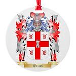 Bricot Round Ornament