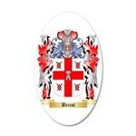 Bricot 35x21 Oval Wall Decal