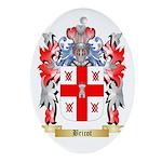 Bricot Ornament (Oval)