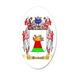Bricknell Oval Car Magnet