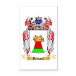 Bricknell Rectangle Car Magnet