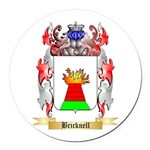Bricknell Round Car Magnet