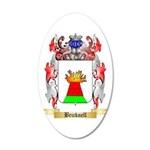 Bricknell 20x12 Oval Wall Decal
