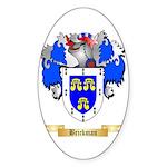 Brickman Sticker (Oval 10 pk)