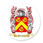 Brichan Round Car Magnet