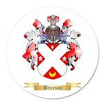 Briceson Round Car Magnet