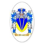 Briant Sticker (Oval 50 pk)