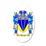 Briant 20x12 Oval Wall Decal