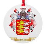 Brian Round Ornament